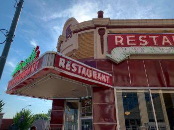 Le restaurant The Arcade à Memphis.