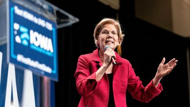 Photo of Démocrates : Elizabeth Warren passe en tête des sondages devant Joe Biden