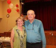 Gaétan Roy, ancien président du Club et sa conjointe, Céline Mathieu (Crédit photo : Club Optimiste)