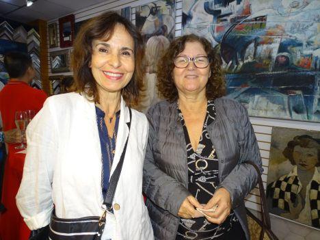 Catherine Edelson et Danielle Waton - Exposition Roger Crusat