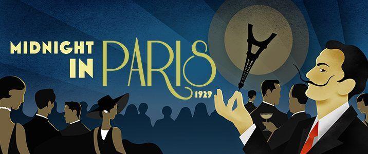 Expo Midnight in Paris au Dali Museum de St Petersburg