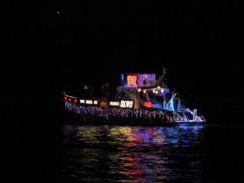 La Winterfest boat parade de Fort Lauderdale (parade de bateaux en Floride)