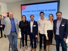 La table ronde French Tech Miami