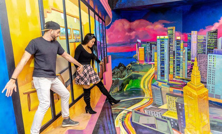 Musée des illusions / Museum of Illusions / à Miami Beach