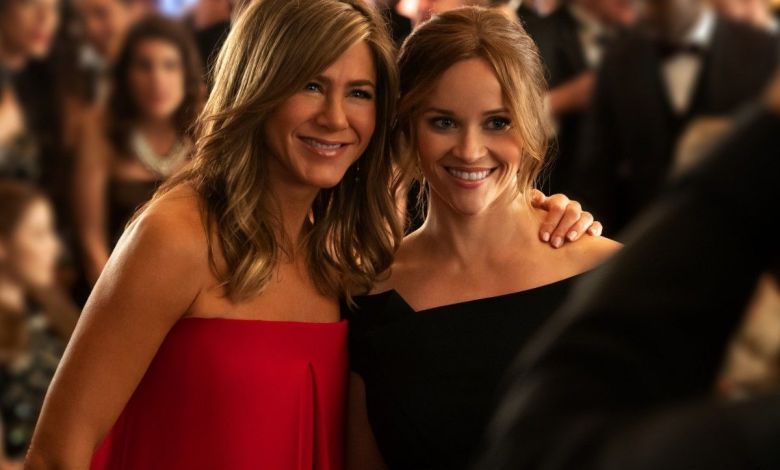 Jennifer Aniston et Reese Witherspoon dans The Morning Show