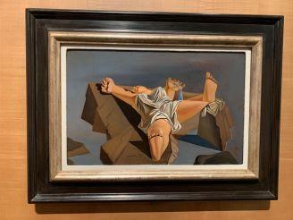 """""""Femme couchée"""" (1926) Salvador Dali Museum de St Petersburg"""