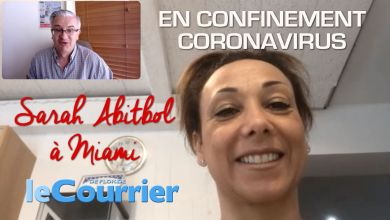 Photo of Interview de Sarah Abitbol en confinement à Miami (crise du coronavirus)
