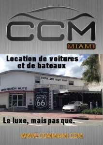 locations de voitures et de bateaux à Miami