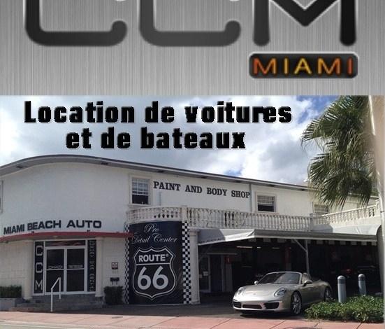 CCM  MIAMI locations de voitures et bateaux