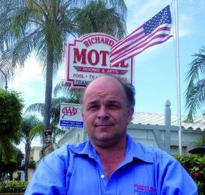 Richard Clavet, à la tête des Richard's Motels et Hotels sur Hollywood et Hallendale.
