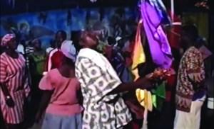 Une cérémonie vaudou à Miami.