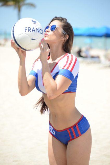 Anaïs Zanotti à Miami Beach