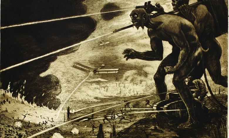 exposition sur la 1ére guerre mondiale à Miami Beach