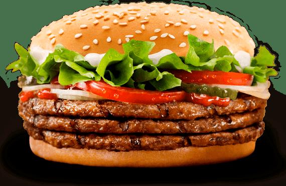Les français fans de burgers