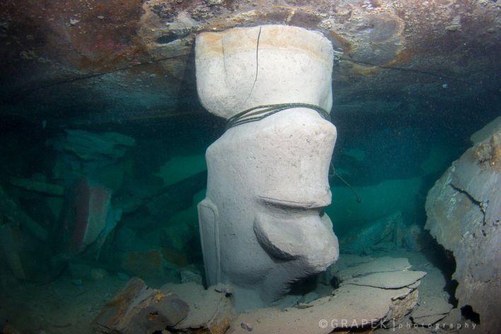 Le site ressemble désormais aux images apocalyptiques de l'Atlantide. (C- Grapek photography on Facebook)