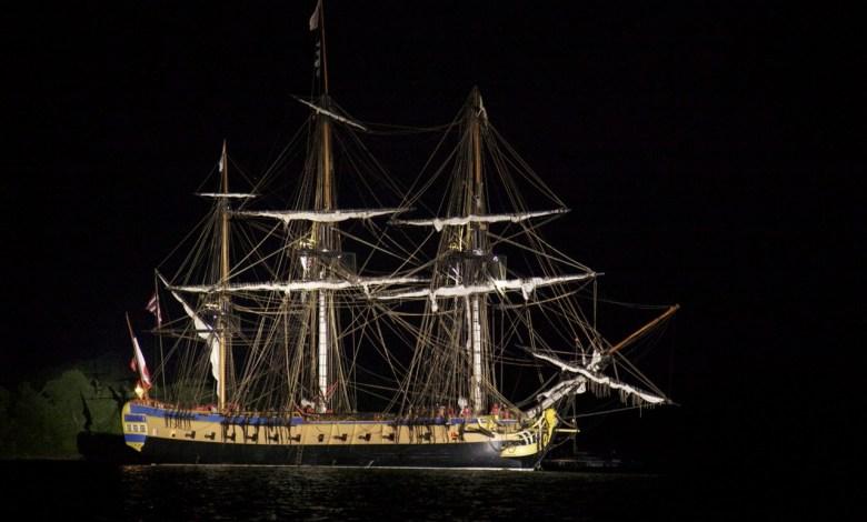 L'Hermione a pris la direction de Baltimore. © Francis Latreille / Association Hermione Lafayette