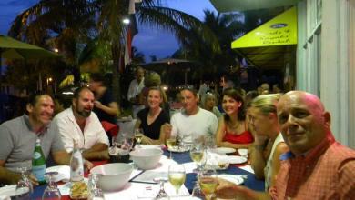 14 juillet 2015 au Sea Restaurant de Lauderdale-by-the-Sea