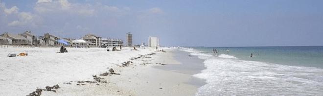 Plage Panhandle Floride