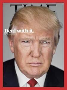 Donald Trump en couverture de Time