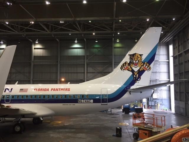 Avion des Florida Panthers