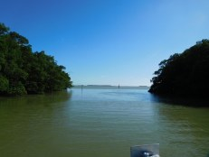 Entrée de la Florida Bay à Flamingo -Everglades national Park)
