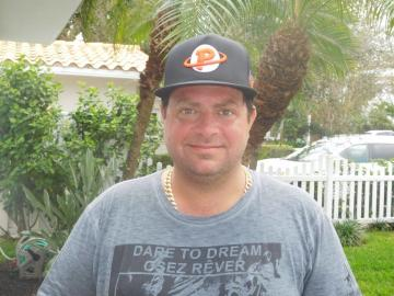 Benoît Charron à Fort Lauderdale (décembre 2015)