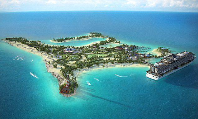 msc-island Bahamas