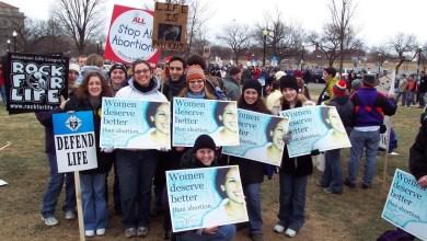 marche pour la vie à Washington en 2004
