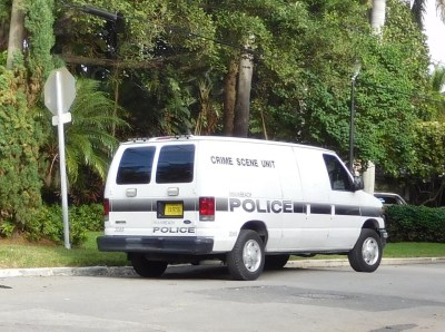 Crime Scene Unit Pablo Escobar MIami Beach