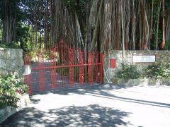 Entrée du Kampong