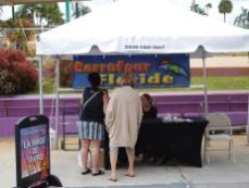 QuébecFest 2016 : Stand de Carrefour Floride