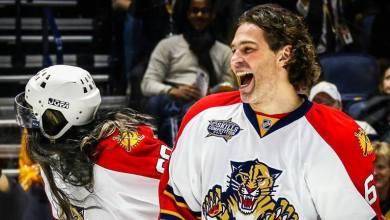 Les poils poussent sur le dos des Panthers cette saison ! (Ici Jaromir Jagr)