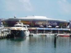 Hard Rock Cafe à Bayside Market Place à Bayfront Park / Miami Downtown