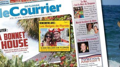 Photo of Le Courrier de Floride de Mai 2016 est sorti !
