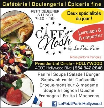 Café Nosh -Le Petit Paris - Restaurant à Hollywood