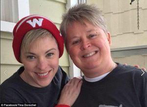 Photo : Facebook de Tina Dorschel (qui est à droite)