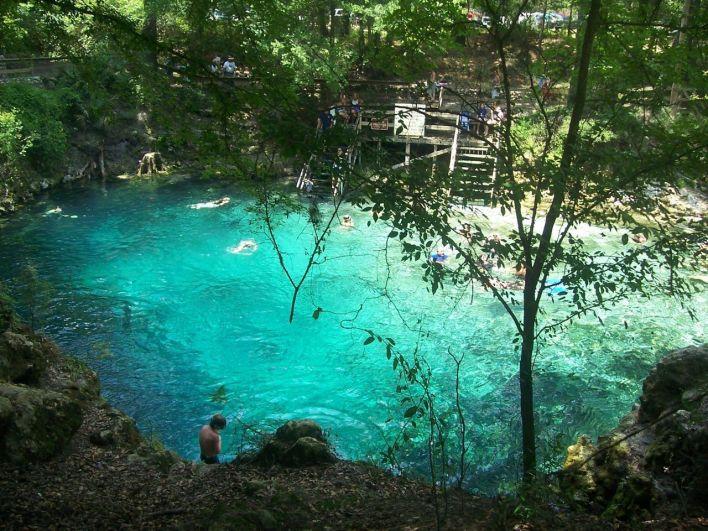 Source de Blue Spring en Floride