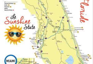 Carte Tourisme de la Floride