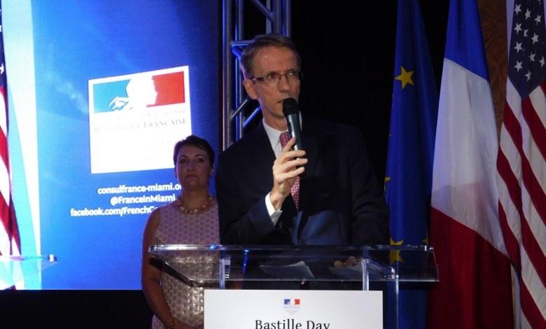 14 juillet 2016 du Consul de France à Miami