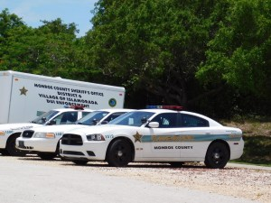 Les vraies voitures de police de Monroe County (comme dans la série Bloodline !) / Keys de Floride