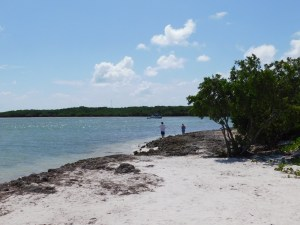 Sombrero Beach sur l'île de Marathon dans les Keys de Floride