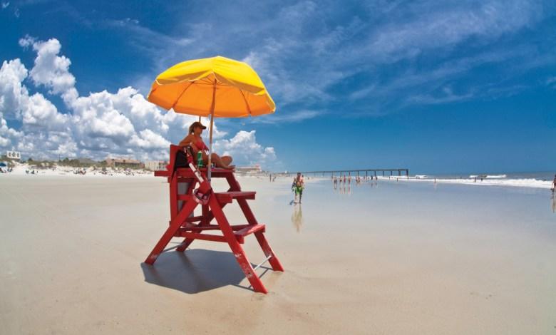 Plage de St Augustine Beach