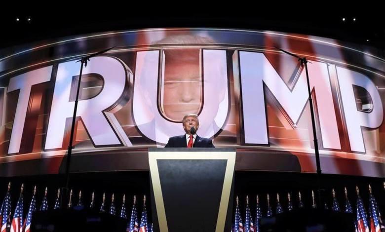 Donald Trump à la Convention Républicaine de Cleveland (crédit photo : page Facebook de Donald Trump)