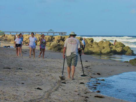 La page sud de Deerfield Beach
