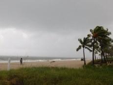 """Fort Lauderdale à 14h jeudi 6 octobre : c'était """"hurricane party"""" pour de nombreux badauds !"""
