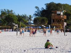 Holmes Beach, sur l'île d'Anna-Maria Island en Floride.