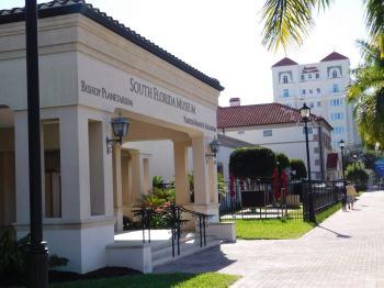 Museum of South Florida, aquarium et planetarium, à Bradenton en Floride