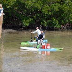 Pêche sur l'île de Lovers Key en Floride