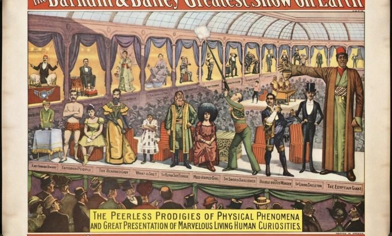 Affiche du cirque Barnum Bailey