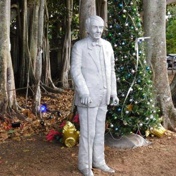 Statue de Thomas Edison au Edison & Ford Winter Estates (leurs maisons d'hiver à Fort Myers en Floride)